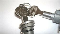 Nos Trunk And Glove Locks With Pony Keys Ford Mustang 1965 1966 65 66