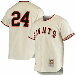 Willie Mays San Francisco Giants Mitchell And Ness Cooperstown Collection