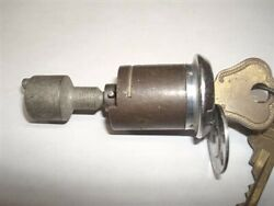 Rare Nos Trunk Lock Cylinder With Hurd Keys 1946 1947 1948 Lincoln