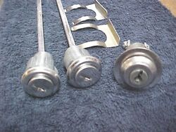 Older Willys And Jeep Ignition Starter Switch With Matching Door Locks And Keys