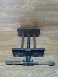 Vintage Craftsman 1v265 Under Bench Vise Face 4 X 10 Inch Preowned Free Shipping