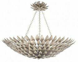 Broche - Six Light Semi-flush Mount In Traditional And Contemporary Style - 24.5