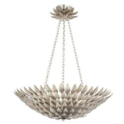 Broche - Six Light Chandelier In Timeless Style - 24.5 Inches Wide By 6 Inches