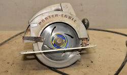 Porter Cable Model 315-1 Type 2 Heavy Duty Metal Body Builders Circular Saw Tool