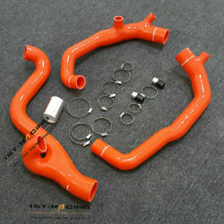 Red 2and039and039 Turbo Inlet+outlet Silicone Pipes For Bmw N54 135i 335i 335xi 535i 3.0l