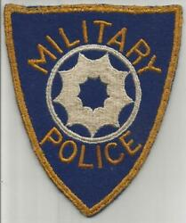 Very Rare Us Army 9th Service Command Military Police Patch Inv H603