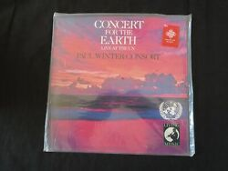 Paul Winter Consort Concert For The Earth [+ Hype] Usa New Old Stock Sealed Lp