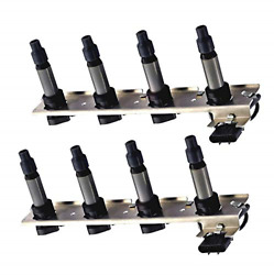 Ena Set Of 2 Ignition Coil Pack Compatible With Cadillac - Deville Seville Srx -