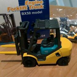 Komatsu Forklift Truck Bx50 Model 1/24 Scale Diecast From Japan Free Shipping