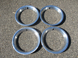 Factory 1967 To 1977 Ford Maverick Torino Comet 14 Inch Trim Rings