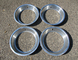 1968 To 1973 Ford Torino Gt 14 Inch Beauty Rings Trim Rings Scratched