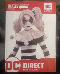 Harley Quinn Red White Black Statue: DC Direct Limited Edition NEW Figurine