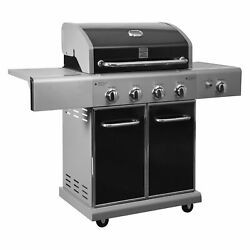 Kenmore 4 Burner Barbecue Bbq Grill Plus Searing Side Burner Grill
