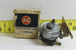 Nos Oem 1970and039s-80and039s Gm 3 Terminal Cruise Control Transducer 6466180 687