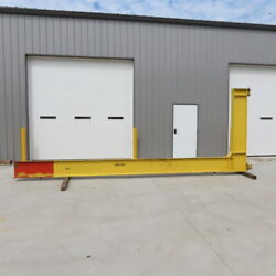 1 Ton Cantilever Jib Crane 19and0399 Swing 16and039 Trolley Travel Wall Mounted