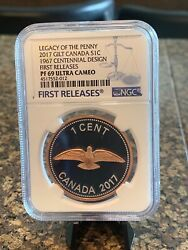 2017 Canada Silver Coin Legacy Of The Penny Centennial Fr Pf69uc Ngc