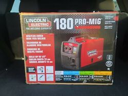 Lincoln Electric K2481-1 Pro Mig 180 Welder Mig/flux-cored Wire Feed 230 Volt