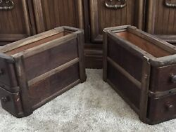 Antique Vintage Singer Sewing Machine Drawers Parts Salvage With Extras