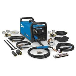 Miller Multimatic 215 Auto-set Multiprocess Welder With Tig Kit 951674