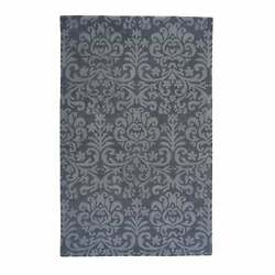 Lace Traditional Hand Tufted Rugs Smoke 10and039 X 14and039
