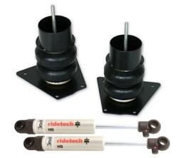 Ridetech 1957 Buick Front Coolride Air Springs And Shocks 11121010