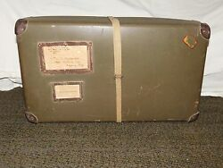 Vintage Wwii Soldier Hanrahan Shipping Box Mail Container 21 X 12