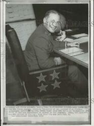 1967 Press Photo Colonel Robin Olds At Air Force Academy In Colorado - Nha19023