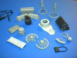 Civil War Marx Lot 13 Blue And The Gray Plastic Vintage Playset Accessories