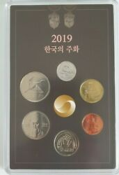 Bank Of Korea Current Coins Mint Set 2019 Korea Coin From 1won To 500won