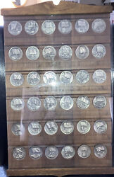 Wittnauer Sterling Silver Coins Flag Collection