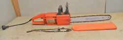 Husqvarna Chainsaw 316 Electric 13 Amp Heavy Duty Vintage Home Owners Saw Tool
