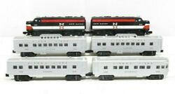 Lionel Lcca 1608w -re-issue - New Haven 209 Alco Aa Passenger Set- New -