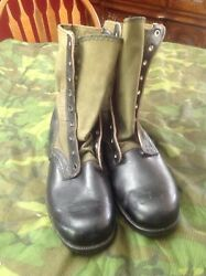Us Vietnam Jungle Boots C.i.c. 3rd Pattern Size 11 N Dated 11/65