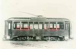 1b941 Rp 1920/40s Walnut And Maple - Eastern Ave And Essex Streetcar Boston