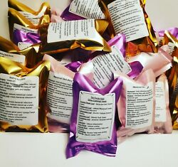 Bulk Lot Yoni Herbs Steam Blends 45 Individual Tear Open Steam Packets Variety