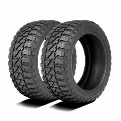 2 Tires Fury Country Hunter M/t Lt 37x13.50r17 Load E 10 Ply Mt Mud