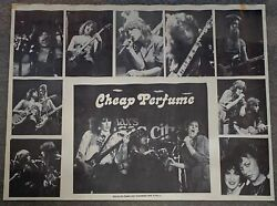 1981 Promo Poster Cheap Perfume 19x25 Nyc All Girl Punk