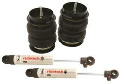 Ridetech 1963-1972 Chevy C10 Rear Coolride Air Springs And Shocks 11334010