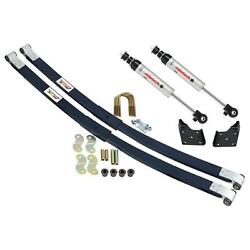 Ridetech 1955-1957 Chevy Wagon Composite Leaf Spring And Hq Shock Kit 11024810