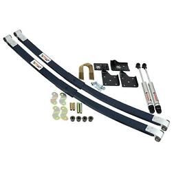 Ridetech 1955-1957 Chevy Car Composite Leaf Spring And Hq Shock Kit 11014810