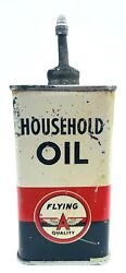 Flying A Household Oiler Tide Water Oil Company Tin Lead Can Usa