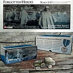 Secondhand Imported Goods Corgi 1/43 Scale Us51703 Wc51 3/4 Ton Weapons Carrier