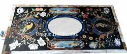 Handmade Collectible Dining Conference Table Top Mosaic Multi Stone Design Dandeacutecor