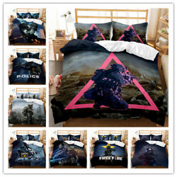 Duvet Cover Pillow Case Single Double Full Size Three-piece Set Counter-strike