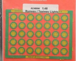 Airwaves 1/48 Runway / Taxiway Lights Photo Etched Set Ac4896