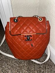 chanel backpack authentic $2200.00