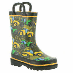 Western Chief Tractor Tough Boys' Infant-toddler-youth Boot