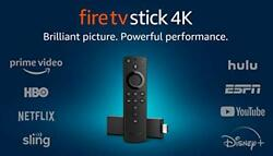 Fire TV Stick 4K streaming device with Alexa Voice Remote Dolby Vision 20...