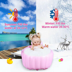 Bath Tub Small Bathtub Chair Safety Portable Inflatable Relaxing Baby Sitting Up