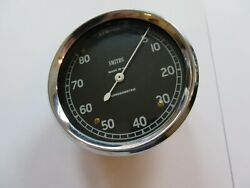 7172 - New/old Stock Smiths Rev Counter 80 Mm Diameter 0-8000 Rpm -needs Paint